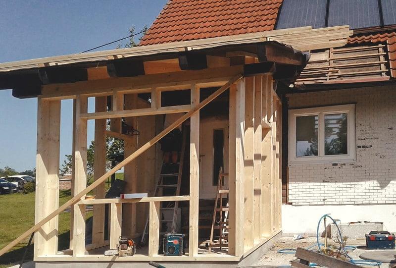 Anbau Einfamilienhaus von Hattinger Holzbau GmbH Pramet