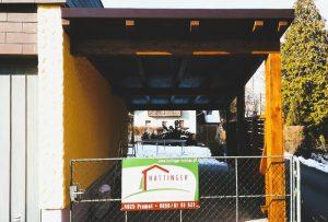 Carport vom Zimmerer Hattinger Holzbau
