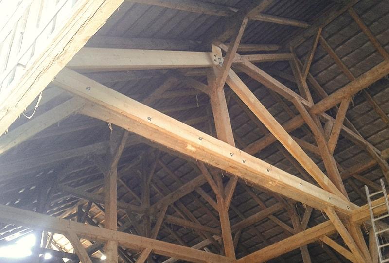 Dachstuhl Unterkonstruktion Hattinger Holzbau GmbH