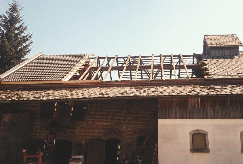 Dachsanierung Hattinger Holzbau GmbH in Pramet