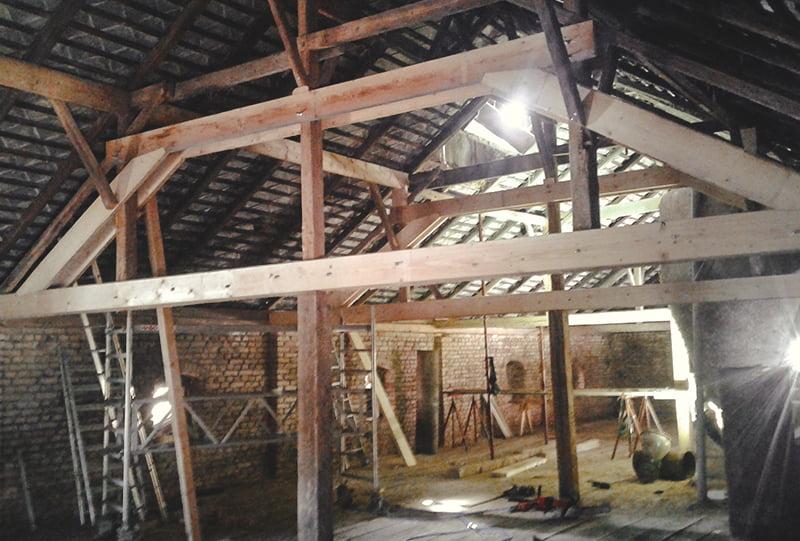 Dachsanierung von Hattinger Holzbau GmbH in Pramet
