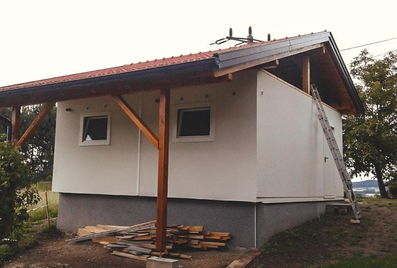Garagendachstuhl von Hattinger Holzbau GmbH im Innviertel