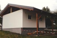 Dachstuhl auf Garage von Hattinger Holzbau GmbH