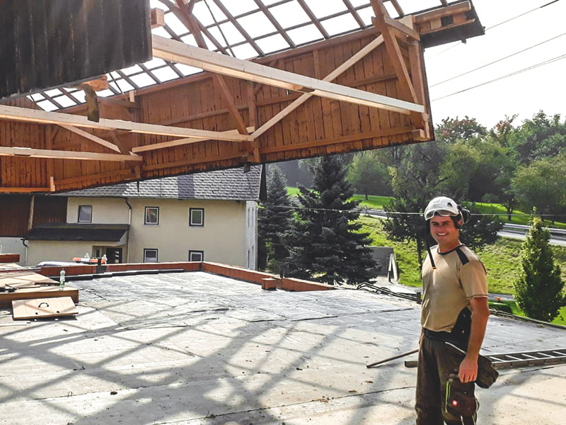 Johann Hattinger Holzbaumeister aus Pramet in Ried im Innkreis