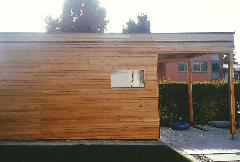 Poolhaus in Ried im Innkreis von Hattinger Holzbau GmbH