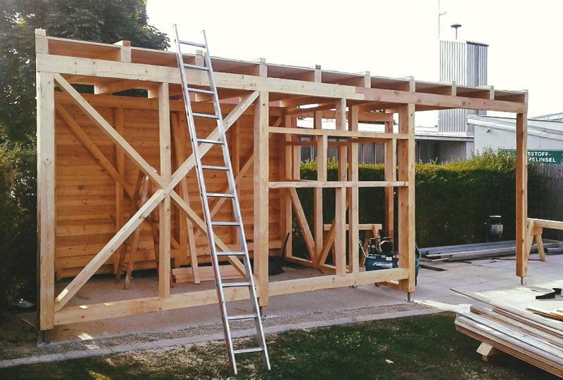 Poolhaus aus Lärche Hattinger Holzbau GmbH Pramet