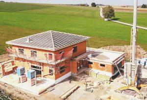 Baustelle Hattinger Holzbau GmbH in Schildorn