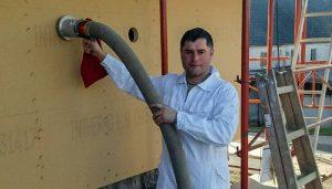 Zellulosedämmung von Hattinger Holzbau